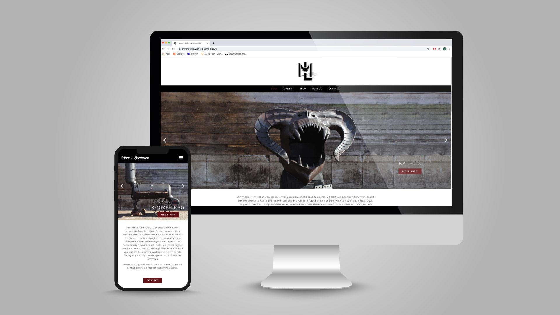 website mike van leeuwen